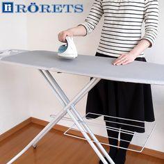 RORETS(ロレッツ) アイロン台 スタンド式 (伸縮・折り畳み可能 アイロン台カバー付)