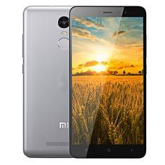 [$222.00] Redmi Note 3 5.5 inch FHD Screen MIUI V7 Smart Phone, MediaTek Helio X10 Octa Core 2.0GHz, RAM: 3GB, ROM: 32GB, Support GPS, GSM & WCDMA & FDD-LTE(Grey)
