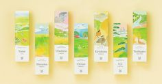 The tea plantation scenery is beautiful | Saudade Tea on Packaging of the World - Creative Package Design Gallery