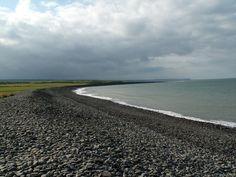 Llanrhystud beach, Ceredigion, Wales
