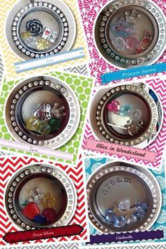 Great Gift Ideas & Birthday Favors for Girls! Origami Owl - Heather Livingston, Independent Designer #34582 easylockets@gmail.com