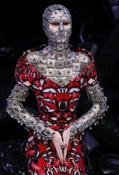 Alexander McQueen   Ready for battle and surrender of the self #McQueen #2010