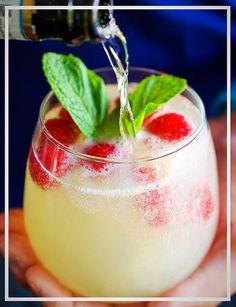 Raspberry Limoncello Prosecco - Perfect for the Summer!