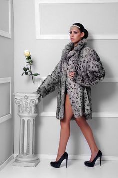Jaguar original #fur .  #jczakaria #couture