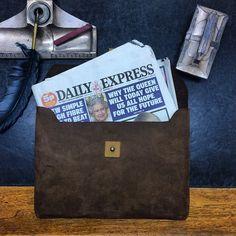 Daily Express..  www.kjoreproject.com/envelopes #kjøre #laptop #envelope #wallets #dailyexpress #london #england #greatbritain #photo #canon #kjoreproject #travel #heritage #vintage #handmande #accessories #instagram #igers #vibram #shoes #backpacks #denim #canvas #wool #newzealand #natural #leather #love #minimal #design @kjoreproject