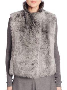 Akris punto - Reversible Fur Vest