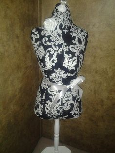 Boutique black flourish dress form 22 craft by MarketPlaceVendors