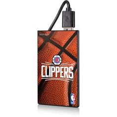 Los Angeles Clippers Basketball Design 2200mAh Credit Card Powerbank by Keyscaper, Multicolor