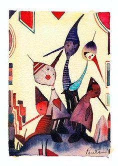 Miss Piggy, Peter Pan, Anna, Birds, Posters, Italy, Sweet, Happy, Handmade