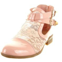 Sopily - Chaussure Mode Bottine Chelsea Boots Ouverte Cheville femmes  dentelle boucle Talon bloc 3 CM 4e0d5fd0e57e