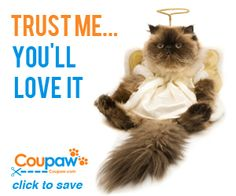Coupaw Daily Deals Sign for Coupaw email newsletter and receive daily deals for dogs and cats.