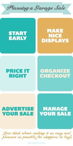 Here's a helpful guide on how to organize and plan a garage sale | DunnDIY.com | #DunnDIY #inspiration #springcleaning (scheduled via http://www.tailwindapp.com?utm_source=pinterest&utm_medium=twpin&utm_content=post1396001&utm_campaign=scheduler_attribution)