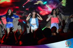 """This is Alex Gonzaga, Kathryn Bernardo, and Janella Salvador dancing to """"Watch Me (Whip/Nae-Nae)"""" by Silentó during their production number for ASAP Supahdance during ASAP at ABS-CBN Studio 10 last June 28, 2015. Indeed, Alex, Kathryn, and Janella are my favourite Kapamilyas and they're amazing Star Magic talents and good dancers. #KathrynBernardo #TeenQueen #AlexGonzaga #IAmAlexG #JanellaSalvador #WatchMeWhipNaeNae #NaeNae #ASAP20 Child Actresses, Child Actors, Maja Salvador, Born Again Christian, Star Magic, Kathryn Bernardo, Dancers, Comedians, Growing Up"""