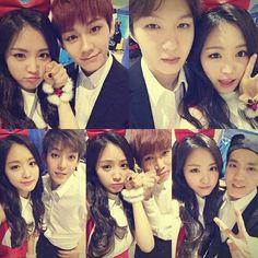 BtoB & Naeun(Apink)