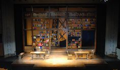 The Chosen. Barrington Stage Company. Scenic design by Meghan Raham. 2013