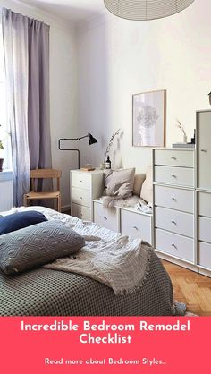 Sympathetic tested bedroom design guide Start Your Free Trial Bedroom Storage, Bedroom Wall, Furniture Styles, Furniture Decor, Wall Painting Decor, Painting Shelves, Bedroom Decorating Tips, Design Your Bedroom, Bedroom Accessories
