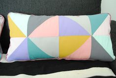inspiration for a pillow - love the colors!
