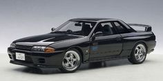 AutoArt NISSAN SKYLINE GT-R (R32) V-SPEC II INITIAL D Legend 2 Theater Ver. - AUTOart high quality precise model car from Japan - DOMO ARIGATO JAPAN