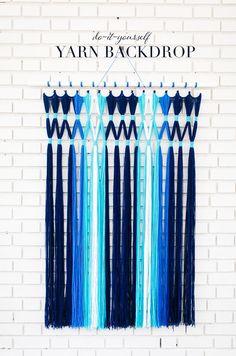 Macramé Yarn Hanging
