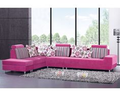 I want a pink couch!