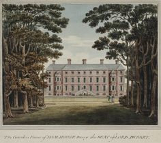 View of Ham House in Petersham, Surrey; Petersham is now in the London borough of Richmond upon Thames. For full details please visit the collection website. London Metropolitan, Richmond Upon Thames, Strawberry Hill, Uk Images, London City, Surrey, Continents, Arch, England