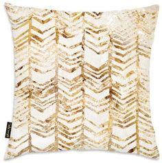 Rustic Chevron Throw Pillow Home Accessories at Art.com