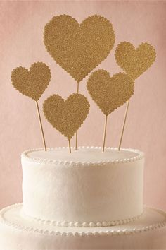 Heartbeats Cake Topper (5) from BHLDN