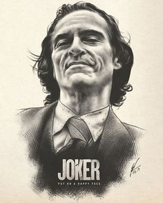 """Is it just me, or is it getting crazier out there? 🖤 """"The Joker"""" AMP by Wolfgang LeBlanc ✍️✨ - ➡️ ARTIST Joker Sketch, Joker Drawings, Pencil Art Drawings, Joker Pencil Drawing, Joker Poster, Joker Hd Wallpaper, Joker Wallpapers, Joker Film, Joker Art"""