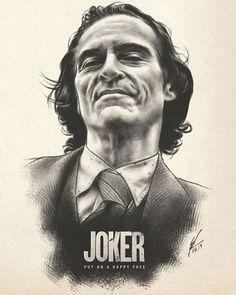 """Is it just me, or is it getting crazier out there? 🖤 """"The Joker"""" AMP by Wolfgang LeBlanc ✍️✨ - ➡️ ARTIST Joker Sketch, Joker Drawings, Joker Pencil Drawing, Joker Poster, Joker Film, Joker Art, Fotos Do Joker, Foto Joker, Joker Tumblr"""