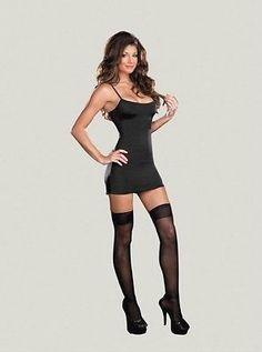 Costume Starter Basic Dress Black Women Fashion Stretch Clothing BLACK XLarge   eBay
