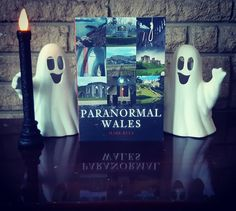 """Join Mark Rees - host of the """"Ghosts & Folklore of Wales"""" podcast and author of books inc. """"Ghosts of Wales"""" - for a curious journey in search of the """"most haunted"""" locations in Wales and real-life Welsh ghost stories: """"In Paranormal Wales author Mark Rees takes the reader on a spine-chilling journey to dozens of these locations, which include well-known tourist landmarks and more secluded spots well off the beaten track. These accounts range from centuries-old legends to modern-day sightings."""" History Of Wales, Old Pub, Ghost Hunters, Most Haunted, Hair Raising, Ghost Stories, Weird And Wonderful, Little Books"""