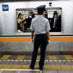 Metro de Tokyo by David Rodríguez, via 500px