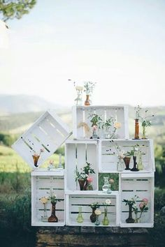 Great way to use pallets ;)