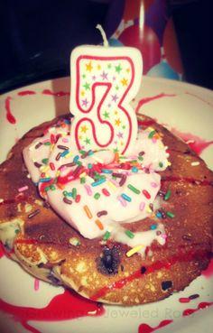 FUN Birthday traditions for Kids- birthday pancake breakfast