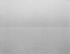 "Hiroshi Sugimoto ""Lake Superior, Cascade River"" 1995 gelatin silver print 119.4 x 149.2 cm Courtesy: Gallery Koyanagi 杉本博司『スペリオル湖, カスケイド川』"