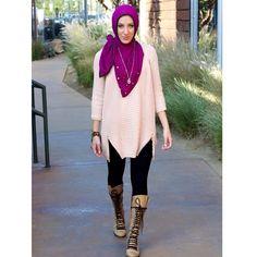 purple studded #hijab Hijab Outfit, Dress Outfits, Dresses, Modest Fashion, Hijab Fashion, Hijab Collection, Islamic Fashion, Beautiful Hijab, Muslim Women