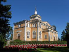 Rautalammin kirkko. Church Rautalammi, Finland