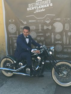 The Distinguished Gentleman Ride of Rome 2015 #dgr #gentleman #distinguishedgentlemansride #sunday #ride #bike #instabike