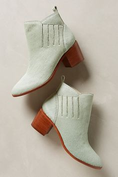 Mint booties #AnthroFave