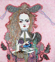 Del Kathryn Barton - the daughter - Roslyn Oxley9 Gallery