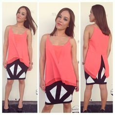 This great outfit is perfect to go from day to night! Available instore and online www.lamodusa.com