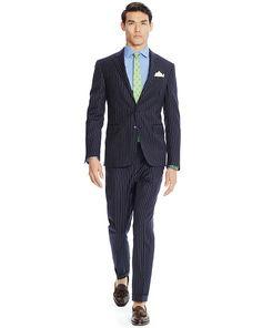 6c38a7337ee41 Polo Pinstriped Wool Suit - Polo Ralph Lauren Formalwear - RalphLauren.com  Wool Suit