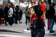 Street Style Par�s Fashion Week Oto�o Invierno 2016