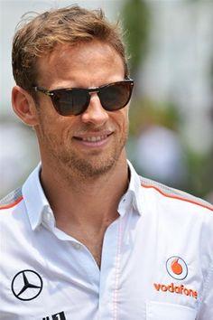 Jenson Button Vodafone McLaren Mercedes