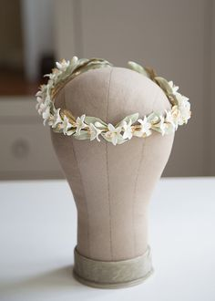 Orange blossoms headpiece. Orange blossoms от LenaRomHeadpieces