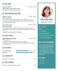 Mẫu CV tiếng Anh / Việt độc đáo, cá tính. Có 6 màu sắc khác nhau cho bạn lựa chọn. - TopCV.vn