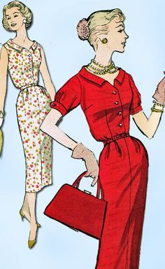 Excited to share the latest addition to my #etsy shop: 1950s Vintage Advance Sewing Pattern 8262 Uncut Misses Slender Sun Dress Sz 32 B http://etsy.me/2HfDuxd #patterns #missespattern #50spattern #sewingpatterns #1950spatterns #vintagepatterns #womenspattern #dresspatt