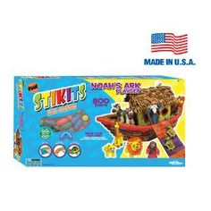 Noah's Ark Stikits® - Create your own Noah's Ark with Stikits®. kids, play, made in usa