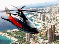 Helicóptero Ferrari.