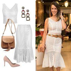 A linda @helodrummond 💕 impressionando com a produção de coppred e saia mid all-white! 😍 Super atual, a cor é a cara do verão e nessa temporada perde a exclusividade das festas de fim de ano. ✨Investimento certo! #avanzzo #sofisticação #branco #allwhite #feminino #itgirl #dica #dicasdemoda #modabrasilia #workit #look #produção #estilo #moda #fashion #instafashion #instamoda #style #instastyle #modamulher #brasilia #fresh #verão #summer #fashionwork #tricot #acessorios #repost #tbt…